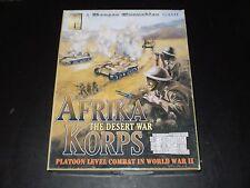 AFRIKA KORPS THE DESERT WAR AVALANCHE PRESS 2002 EXCELLENT COND.