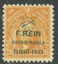 U.S. Possession Philippines Airmail stamp scott c43 - 20 cent issue mh #7