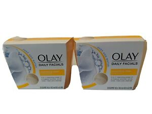 Olay Daily Facial (2) packs.  Makeup Remover, Tone Cleanse, Exfoliate, Hydrate.