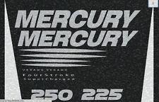 ULTRA METALLIC Mercury Verado Four Stroke Generation 2 Decal Kit