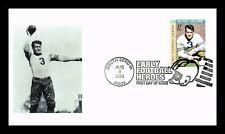 BRONKO NAGURSKI EARLY FOOTBALL HEROES FDC ADD ON CACHET SCOTT 3808 US COVER