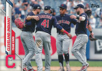 2020 Topps Series 1 #65 Cleveland Indians Team Card