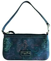 Dooney & Bourke Walt Disney World Disneyland Black Wristlet with Mickey Mouse