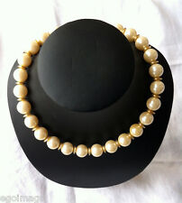 1980s GIVENCHY Vintage Necklace FAUX PEARL - COUTURE SUBLIME COLLIER DE PERLES