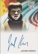 "Star Trek Movie 2009 - Jacob Kogan ""Young Spock"" Autograph Card"