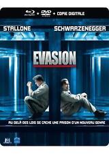 Escape Plan ( EVASION ) blu ray Steelbook - 2 disc set ( NEW ) Please read