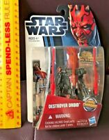 STAR WARS DESTROYER DROID MOVIE HEROES TOY BATTLE ACTION FIGURE MH12 LIKE NEW!