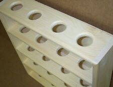 baseball shelf unfinished pine wood hand made white holds 20 balls made in USA
