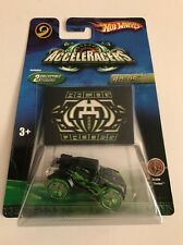 RD-05 Black w/ Green Realm Series * Acceleracers Hot Wheels * Y66