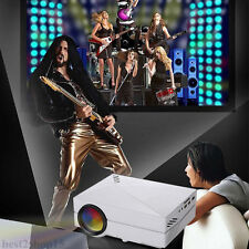 1000LM Full HD 1080P LED LCD 3D VGA HDMI TV Home Theater Movie Projector Cinema