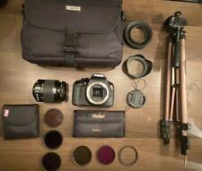 Canon Eos Rebel t6 camera +accessories bundle