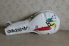 Adidas Stefan Edberg Tennis Tragetasche Sporttasche Weiß 88cm Vintage Retro 1988