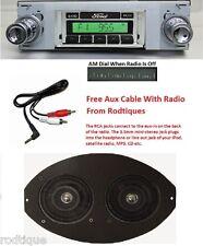 1963-1964 Ford Galaxie Radio + Dual Dash Speaker + iPod Dock + USB Aux 630 II