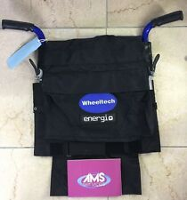 Wheeltech Energi + Plus Electric Wheelchair Complete Folding Backrest Canvas