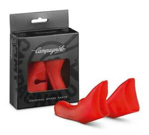 CAMPAGNOLO 11 Speed ErgoPower Ultra Shift Brake Hoods 2009-2014 Record: RED