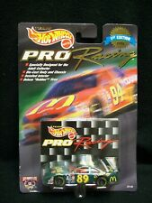 Hot Wheels 1998 Pro Racing Bill Elliott McDonalds McRib Nascar.