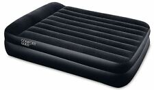 "Bestway Inflatable 80""x 60""x 18"" Premium Double Queen Air Bed Camping Mattress"