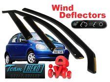 Toyota Yaris  1999 - 2001  Wind deflectors  5.doors  4.pc   HEKO  29350