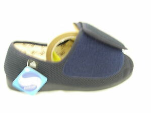 Unisex Extra Wide EEE Fit Adjustable Washable  Easy Fit Slippers Ladies Gents