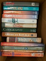 9 Textbooks and 4 Workbooks For Christian Schools