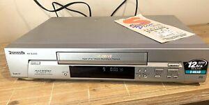 Panasonic NV-SJ200 VCR VHS Player Recorder Video Player Multi System