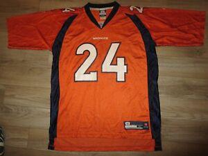 Champ Bailey #24 Denver Broncos NFL Reebok Football Jersey XL mens