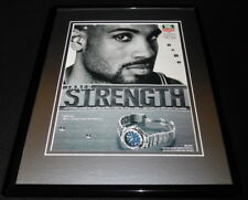 Grant Hill 1998 Tag Heuer Watches Framed 11x14 ORIGINAL Advertisement