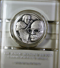 Menachem Begin Israel Statesman Sterling Silver Proof Medal Judaic Heritage