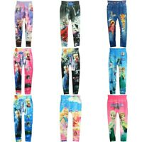 Lovely Girls' Colorful Skinny Leggings Casual Kid's Stretchy Pants Trousers Hot