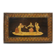 Antique Inlay Puzzle Box from Sorrento The Lace House and Useful Things