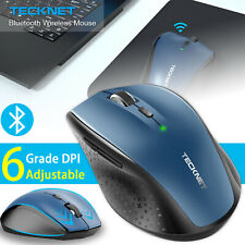 Bluetooth Wireless Mouse 3000DPI Adjustable Optical Microsoft Mice for PC Laptop