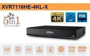 Esse Italia DVR 16 Canali HD CVI AHD TVI ANALOGICO IP 8MP 4K Dahua - XVR7116HE-4