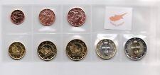 CYPRUS 2018 COMPLETE EURO COINS SET UNC
