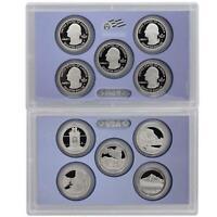 2010 S Proof Parks Quarter Set ATB Gem DCam No Box or COA 5 Coin CN-Clad US Mint