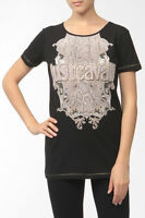 Just Cavalli Python T Shirt Black Size L Box46 33 A