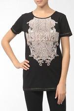 Just Cavalli Python T Shirt Black Size L Box4624 B