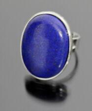 XL Ring Naturstein Lapis Lazuli Breit Edelstein-Ring Finger Edelstein Unikät
