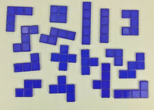 Blokus Game Replacement Pieces Parts 2003 2005 Tiles Educational Insights Blue