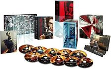 New Biohazard Resident Evil Ultimate Complete Box 10 Blu-ray Japan