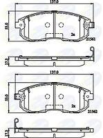 Comline Front Brake Pad Set CBP32202  - BRAND NEW - GENUINE - 5 YEAR WARRANTY