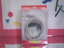 Canon IMAC / PowerMAC Parallel - to - USB Printer Cable with Software