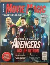 Movie Magic Collector's Edition Avengers Age Of Ultron Pics 2015 FREE SHIPPING!