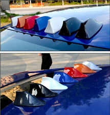 New Wireless 3D Shark Fin Shape Automobile Roof Radio AM/FM Signal Antenna 1pcs
