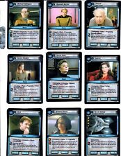 STAR TREK 2E CALL TO ARMS TRADING CARDS WITH RARES AND FOILS LOT OF 155 2003 CCG