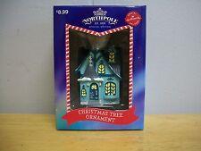 Hallmark Northpole 1820 Special Edition Christmas Tree Ornament HOUSE NIB 2014