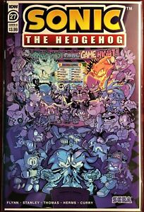 SONIC The HEDGEHOG Comic Book IDW #27 Cover B March 2020 Bagged & Boarded MINT