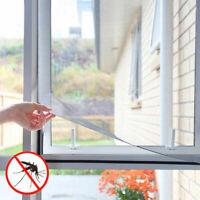 Moustiquaire pour fenêtre avec fixation velcro Noir - Neuf