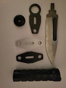 Billet Aluminum/Steel parts for Buck 188/M9/Lancay/Phrobis MFK/CUK blade knife