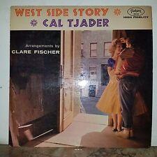 Cal Tjader Orig.1st.Press.West Side Story.Fantasy-Red Vinyl-Wlp Promo Copy-VG+