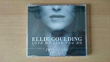 ELLIE GOULDING Love Me Like You Do CD single Delirium 50 Shades of Grey